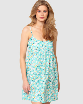SACHA DRAKE - Women's Blue Gowns - Sunset To Sunrise Petite Nightie - Size One Size, 12 at The Iconic