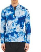 adidas Men's Long Sleeve Printed Activewear Shirt