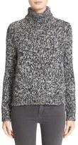 Moncler Women's Bicolor Turtleneck Sweater