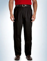 Canyon Ridge Waist-Relaxer Pleated Twill Pants Casual Male XL