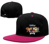 JAC8I Caps Cool Paw Patrol Logo Snapback Hiphop Baseball Cap Hat Adjustable Unisex