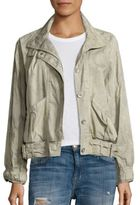 Free People Parachute Cropped Army Jacket