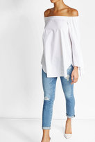 AG Jeans Rolled Up Crop Jeans