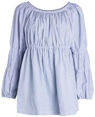 Comme des Garcons Striped Poplin Shirt