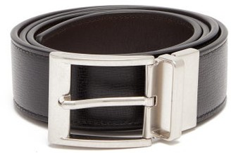 Bottega Veneta Grained Leather Belt - Black