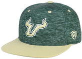 Top of the World South Florida Bulls Energy 2-Tone Snapback Cap