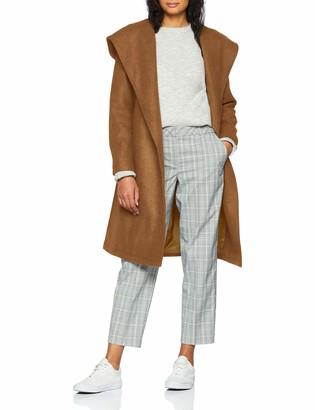 Only Women's Onlriley Wool Hooded Wrap Coat Cc OTW