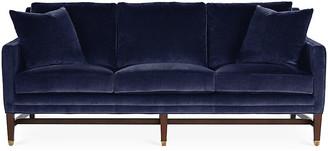 Michael Thomas Collection Arden Sofa - Lapis Velvet