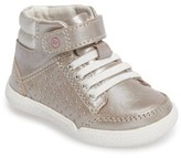 Stride Rite Infant Girl's Stone High Top Sneaker