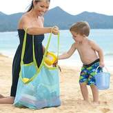 Flii Extra Large Sand Away Beach Mesh Bag Children Beach Toys Clothes Towel Bag Baby Toy Collection Nappy