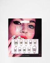 WAH London Press On Nails - Baron Von Fancy