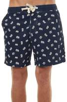 The Critical Slide Society What Now Mens Beach Short Blue