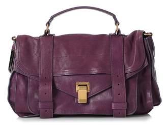 Proenza Schouler Purple Leather Handbags