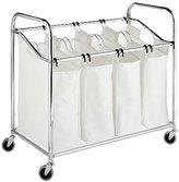 Whitmor 6097-3529-BB 4-Section Laundry Sorter