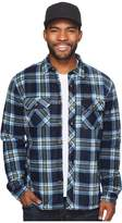O'Neill Glacier Heat Dome Wovens Men's Short Sleeve Button Up