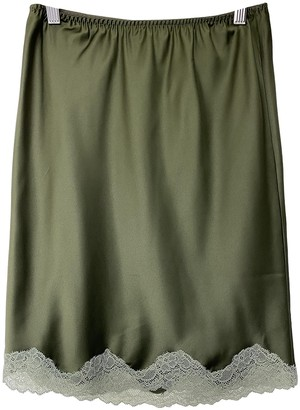 LOVE Stories Green Skirt for Women