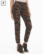 White House Black Market Petite Utility Slim Camo Jeans