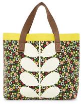 Orla Kiely Flower Bloom Canvas Beach Bag