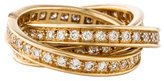 Cartier Trinity de Diamond Ring