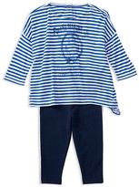Ralph Lauren Girls' Boxy Top & Leggings Set - Baby