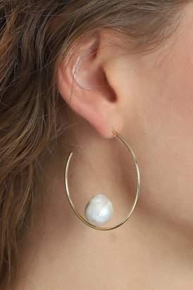 Pilgrim Pearl Gold-Plated Earrings