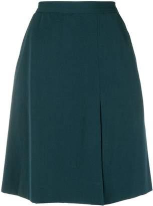 Saint Laurent Pre-Owned A-line short skirt