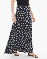 Chico's Polka Dot Maxi Skirt