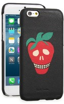Paul Smith Strawberry Skull Iphone 6 & 6S Case - Black