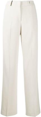 Peserico Stripe Detail Trousers