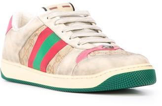 Gucci Gg Monogram Screener Sneakers Pink
