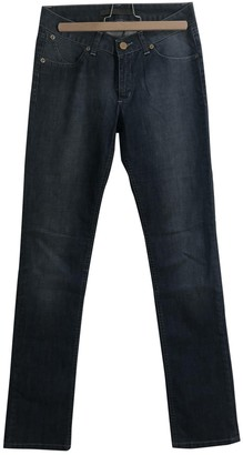 Superfine Blue Cotton Jeans for Women