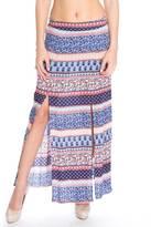 LA Roxx Bohemian Maxi Skirt