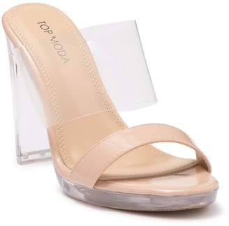 Top Moda Charlee Heeled Sandal