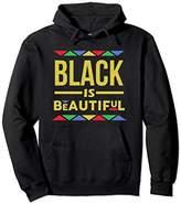 Unisex Black is Beautiful African Pattern Black Pride Pullover Large Black