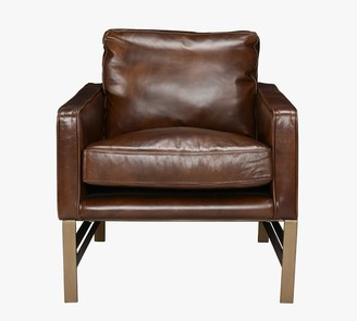 Pottery Barn Keddington Leather Armchair
