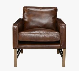 Pottery Barn Keddington Leather Armchair