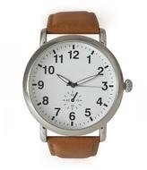 Ily Couture Classic Strap Watch - Tan