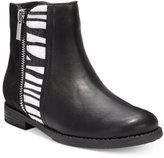 Kenneth Cole Girls' or Little Girls' Kennedy Multi Zebra Boots