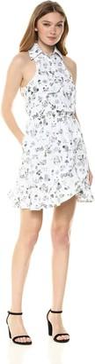 LIKELY Women's Santula Printed Poplin Wrap Dress