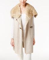 Calvin Klein Faux-Shearling Vest