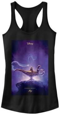Fifth Sun Disney Juniors' Aladdin Aladdin Live Action Poster Ideal Racerback Tank Top