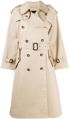 Marc Jacobs Double-Breasted Trench Coat