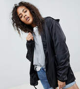 ASOS Tall ASOS TALL Rain Jacket with Fanny Pack