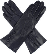 Dents Rose silk-lined leather gloves