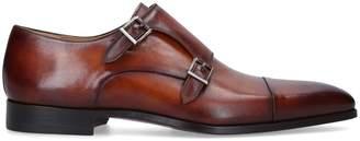 Magnanni Burnished Double-Monk Shoes