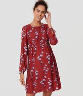 LOFT Maternity Bluebell Blouson Dress