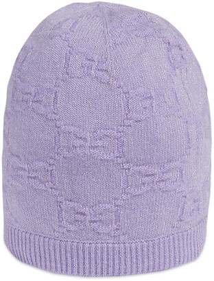 Gucci Children's GG sparkling wool hat