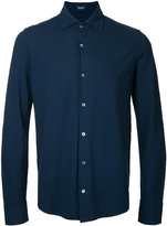 Drumohr plain shirt - men - Cotton - 46