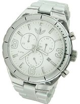 adidas Men's Cambridge ADH2540 Grey Plastic Analog Quartz Watch with Mother-Of-Pearl Dial