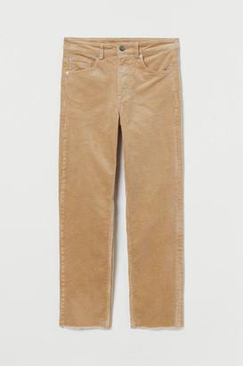 H&M Corduroy trousers